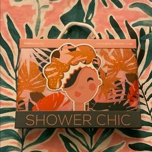Bella Beauty Shower Chic Reusable Shower Cap NWT